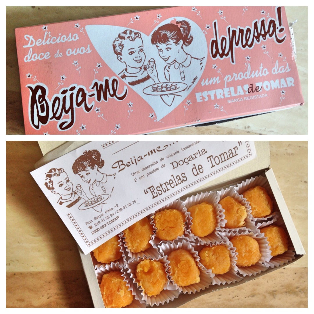 Beija-me depressa! Kiss me quick, conventual sweets from Tomar