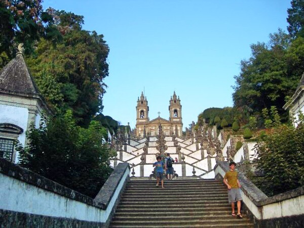 Steps at Bom Jesus do Monte sanctuary