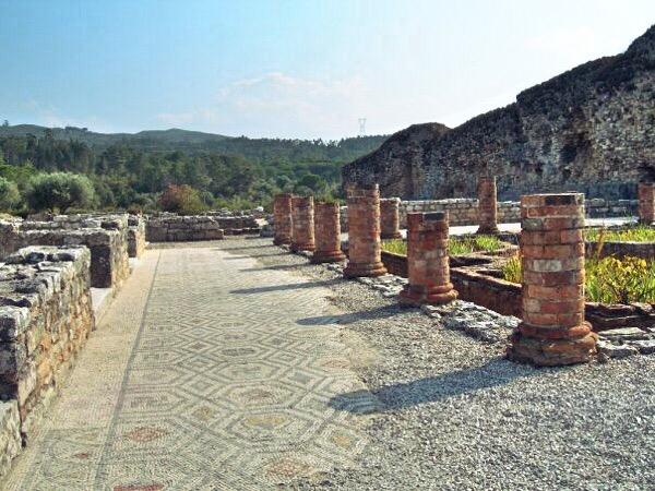 Conímbriga - walkway