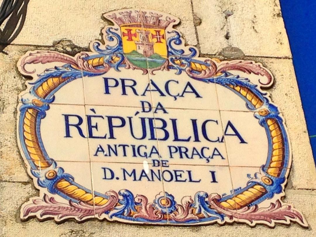 Letreiro / sign Portugal