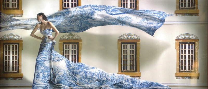 El Corte Ingles azulejo ad