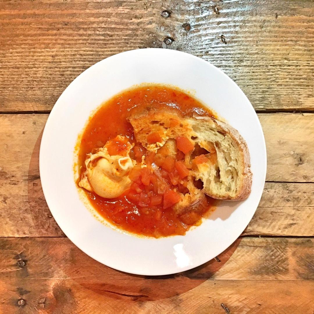 Sopa de Tomate a Alentejana